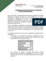 Nota Prensa Elecciones CAZG _20110405