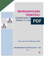 2.1 Classificação Decimal de Dewey – CDD e a Sua Estrutura