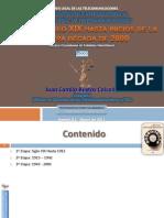 Reseña Histórica e Introducción al Régimen Legal de Telecomunicaciones COLOMBIA