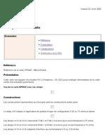 NPRAE Configuration matérielle