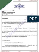 Direito Administrativo Blocos 01 e 02