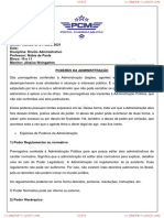 Direito Administrativo Blocos 10 e 11