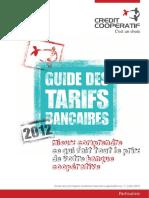 Credit coopératif guide tarifs