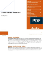 Deploying Zone Based Firewall