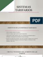 SISTEMAS TARIFARIOS