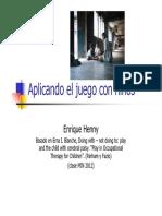 10.- Aplicacion Terapeutica Del Juego