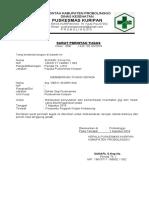 SURAT PERINTAH TUGAS  workshop laporan vaksin