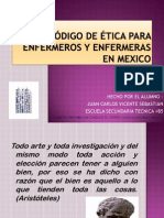 CODIGO DE ETICA DE ENFERMERIA