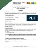 Edital - Pregão Presencial - SRP 036-2021