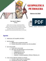 Geopolitica Petrolera_IvanOlaya_Unal_Feb2018