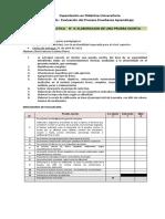 Guía de Evaluación Prueba Escrita Elvio Caceres