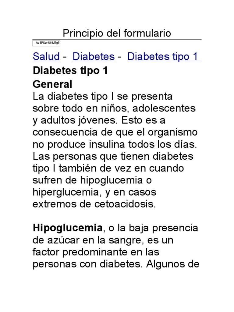 cetonas mal aliento diabetes insípida
