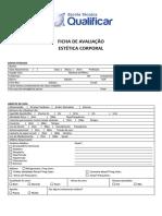 Ficha Avaliação Estética Facial e Corporal