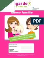 Memo Famille