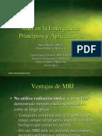 MRI en la emergencia