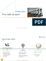 Aperçu Business Plan Salle de Sport