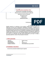 Producto Acreditable Final Diseño en Acero Fecha 16 07 2021