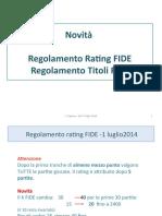 Titoli e rating Seminario CRL 2014