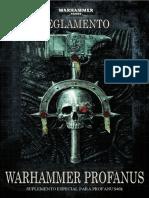 Reglamento Warhammer Profanus 2020