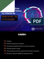 Melhores práticas para prevenir falhas no sistema de segurança da informação