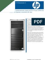 ML110 G4 Data Sheet_esp