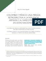Colombia y México narcoplítca