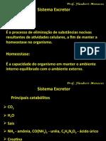 1.4 Fisiologia da Excreção