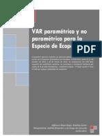 ECOPETROL_VAR PARAMETRICO Y NO PARAMETRICO