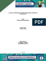 Evidencia 3 Propuesta Estructuracion Del Sistema de Trazabilidad