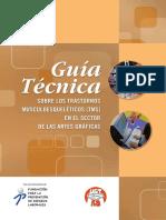 Guia tecnica sobre los trastornos musculoesqueleticos (TMS) en el sector de las artes graficas