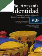 Libro Diseño, Artesanía e Identidad