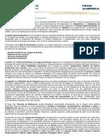 Linguistica Plan de Estudios 17