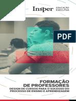 Insper_Formação de professores - Design de cursos