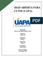 Español I, tarea 7