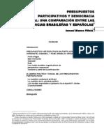 BLANCO FILLOLA Ismael - Presupuesto Participativo y Democracia Local