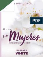 Devocional de 21 Días Para Mujeres Conociendo a Dios