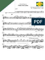 [Free Scores.com] Debussy Claude Clair Lune Tenor Sax 46245