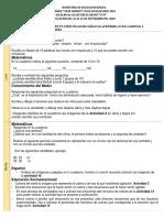 ACTIVIDADES 21-25 SEPTIEMBRE 2°B