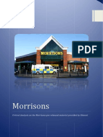 Critical Analysis on Morrisons Pre-Released material