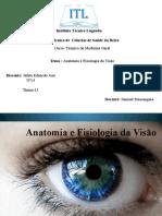 Anatomia e Fisiologia Da Visão