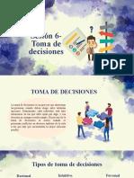 Sesión 7-Toma de Decisiones