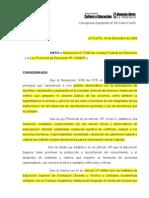Anexos y Resolución CAI 2009 resaltado