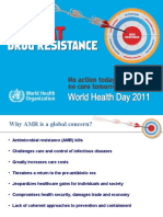 Combat Drug Resistance, WHO