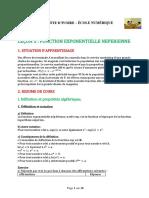 TA-Maths-05 Fonction exponnentielle  D200501