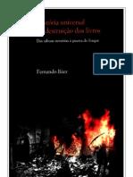 Historia Universal da Destruicao dos Livros - Fernando Baez