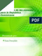 importancia de Las Remesas Para La Republica dominicana