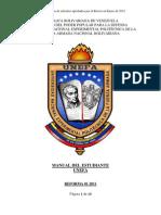 MANUAL DEL ESTUDIANTE UNEFA-2011