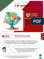 ARTICULOS DE OPINION -MATERIAL DE ENSEÑANZA