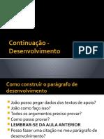 Aula 5 - Desenvolvimento part2