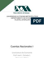Cuentas Nacionales I
